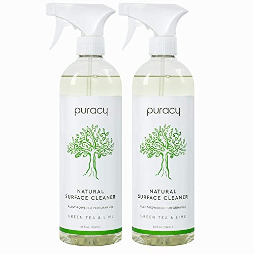 Puracy All Purpose Cleaner, Household Natural Multi-Surface Spray, 25 Ounce (2 Pack)
