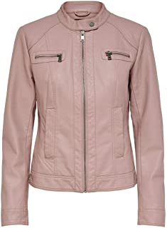 Only Onlbandit Faux Leather Biker Otw Noos Chaqueta para Mujer