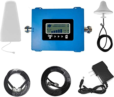 Amplificador de señal 4G LTE 800 Band20 / 1800 Band3 / 2100 B1 / 2600 Frecuencia Band7 repetidor de la señal de la Antena móvil Kit Vendedor ...