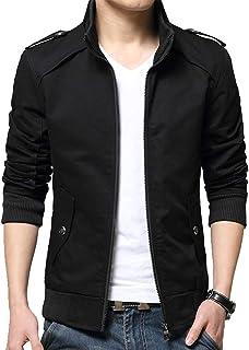 Womleys Mens Casual Windbreaker Outerwear Cotton Coat Lightweight Jackets
