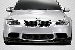 Carbon Creations Replacement for 2008-2013 BMW M3 E90 E92 T-Design Front Lip Under Spoiler Air Dam - 1 Piece