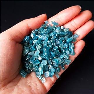 ZZLLFF 100G Natural Blue Gem apatita pequeña Piedra áspera Espécimen Curación de China (Size : 100g)
