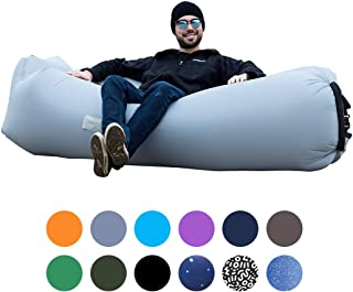 ORSEN Inflatable Lounger Portable Hammock Air Sofa with Water Proof,Anti-Air Leaking Design,Ideal Inflatable Couch and Beach Chair Camping Accessories for Parties Picnic&Festival