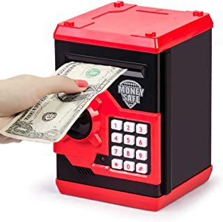 Refasy Children ATM Electronic Coin Money Safe for Kids-Hot Gift
