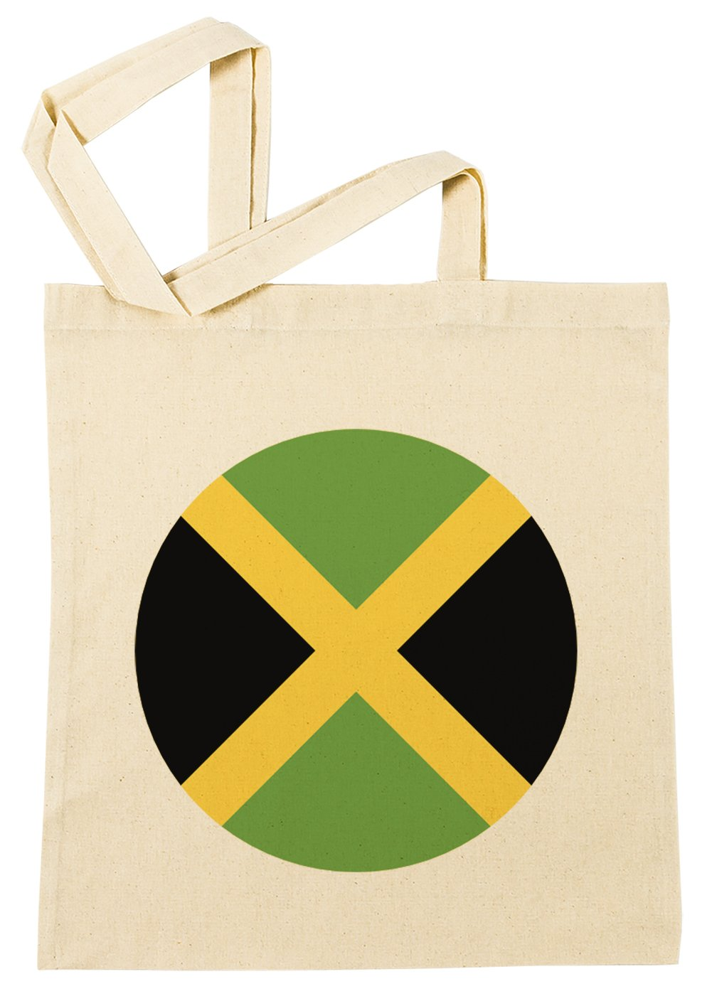 Jamaica Nacional Bandera Bolsa De Compras Playa De Algodón Reutilizable Shopping Bag Beach: Amazon.es: Hogar