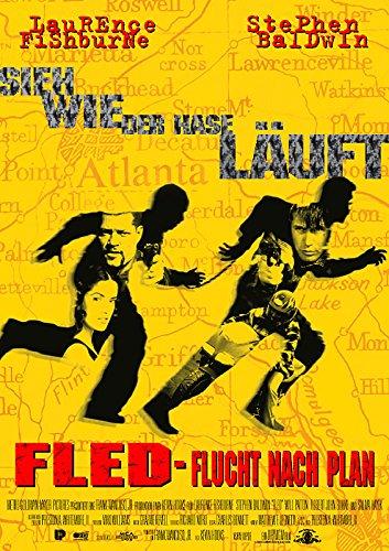 Fled - Flucht nach Plan (1996) | original Filmplakat, Poster [Din A1, 59 x 84 cm]