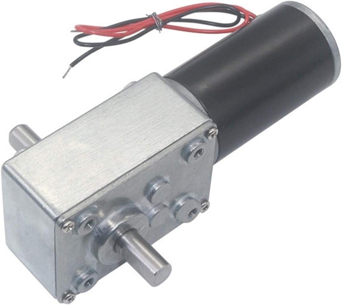 Jjzhb PYunLi-Motor de Corriente Continua Motor de Alta voltio de 24 voltios, 5840-31ZY Motor DE Mayor DE Mayor DE LODING DE Eje Doble Eje, Piezas Speed(RPM) : 5rpm, Voltage(V) : 12V