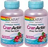 CranActin Cranberry Extract Solaray 180 VCaps