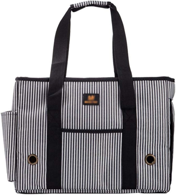 HXBLB OneShoulder Out Bag Carrying Bags Teddy Backpack cat Bag Dog Travel Folding Breathable pet Bag Supplies (Size   M)