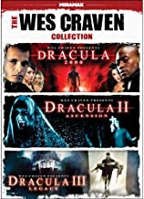 The Wes Craven Collection: Dracula 2000 / Dracula II: Ascension / Dracula III: Legacy