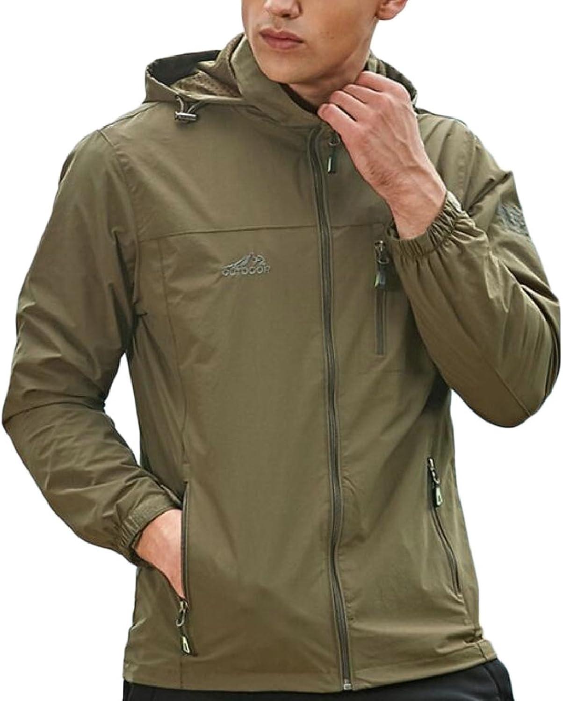 HTOOHTOOH Mens Winter Thicken Hoodies Contrast Color Long Sleeve Sweatshirt