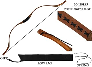 right-handed longbow