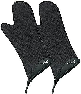 Spring Grips, handschoen lang 1 paar, 2 tlg, zwart