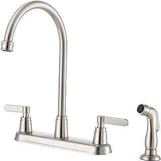 Amazon Com Kitchen Sink Faucets Side Sprayer Kitchen Sink Faucets Kitchen Faucets Tools Home Improvement