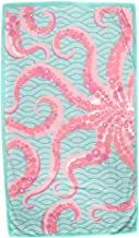 The Royal Standard Octopus Mint/Pink Giant Microfiber Beach Towel 40x70