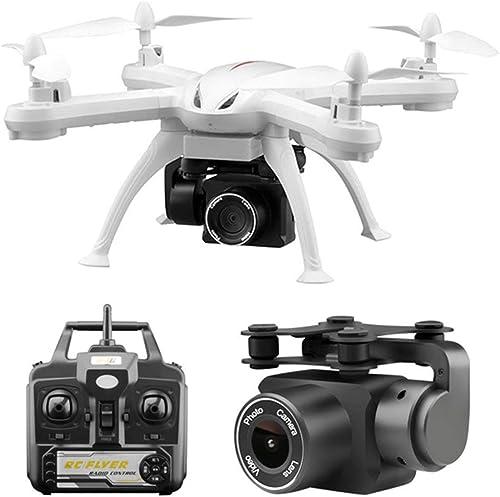 WOSOSYEYO X6S Drone 4CH WiFi FPV Drone 4K HD Pression de vol en vol Stationnaire Hélicoptère RC sans tête Mode RC Avion