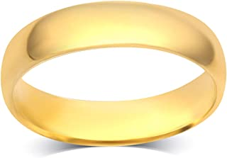 2MM - 8 MM Unisex Comfort Fit Wedding Band in 10k Solid Gold