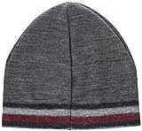 Tommy Hilfiger Herren Knitted Corporate Stripe Edge Beanie Strickmütze