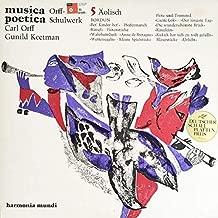 Carl Orff, Gunild Keetman - Musica Poetica Teil 5 - Orff Schulwerk - Äolisch Reines Moll - Harmonia Mundi - HM 30 904 X