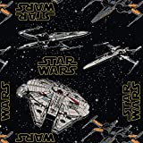 Visage Star Wars Rebel Ships Stoff – verkauft pro 1/4