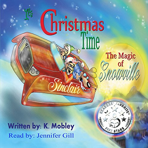 It's Christmas Time audiobook cover art