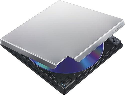 Pioneer BDR-XD07TS 6X Slim USB 3.0 BD / DVD / CD Burner - Silver