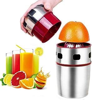عصارة الحمضيات اليدوية المحمولة من الستانلس ستيل - غطاء يستخدم لعصير الجريب فروت والبرتقال والليمون واليوسفي والفواكه الأخرى