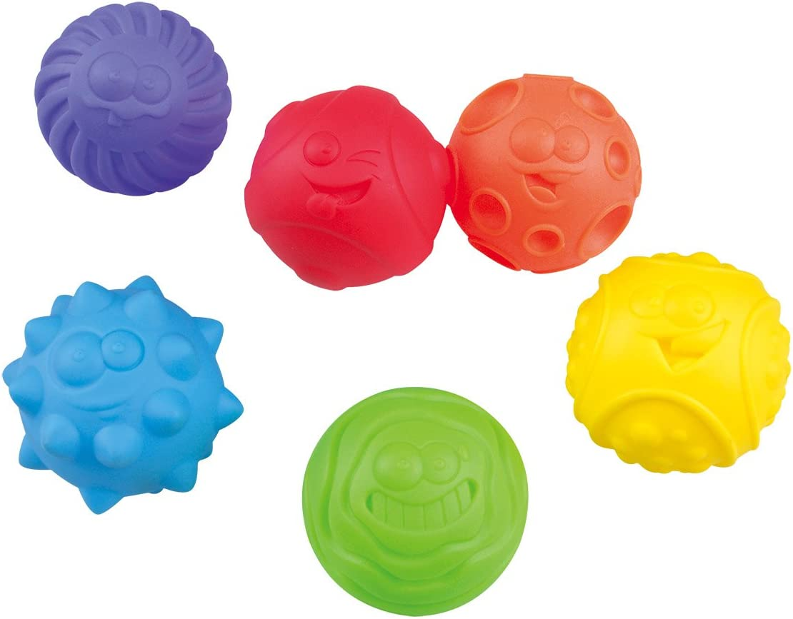 PlayGo Sensory Genuine Balls Save money for Baby Great In Variety Rainbow Texture a