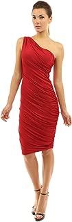Women One Shoulder Cocktail Dress