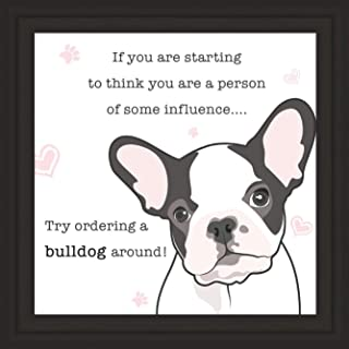 Bulldogs Gifts | 7x7 Tile Artwork for Decoration | Dog Themed Present | Art Print Gift for English & French Bulldog Lover | Ideal for Home & Bedroom Decor