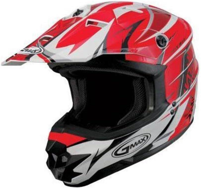 G-Max Visor for favorite GM76X Helmet - White 076008 Red Player New sales Black