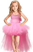 LEEGEEL Handmade Girls Tutu Dresses Girls Tulle Dress for Birthday Party, Photography Prop, Special Occasion