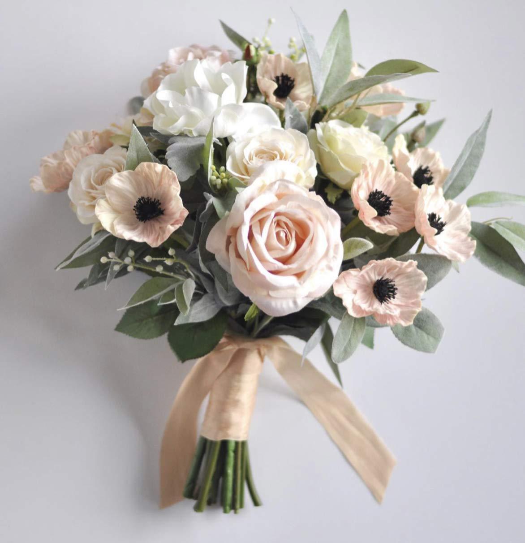 Blush 100% quality warranty! pink New arrival wedding bouquet