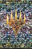 Trends International Magic: The Gathering - Collage Wall Poster, 22.375' x 34', Premium Unframed Version