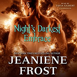 Night's Darkest Embrace audiobook cover art