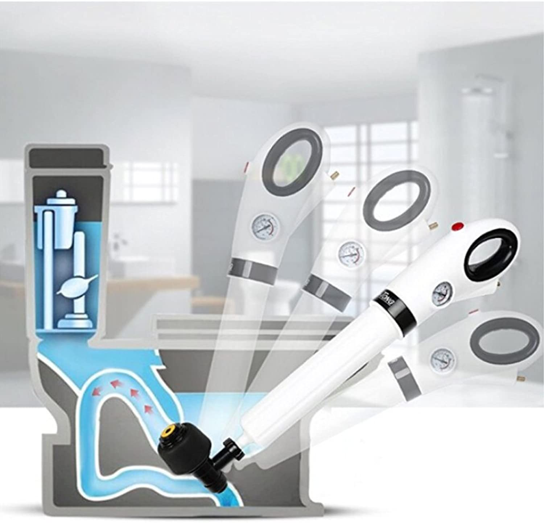 Toilet Bathroom Air Power Drain Blaster High Pressure Drain Opener