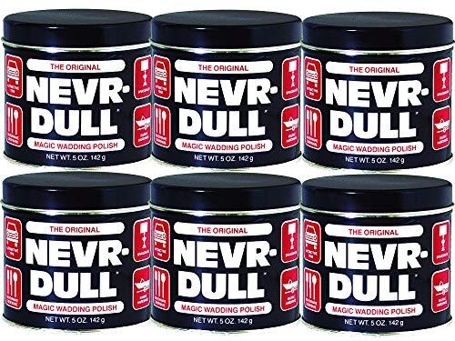 NEVR DULL Metallpolierwatte 990700, 6er Set