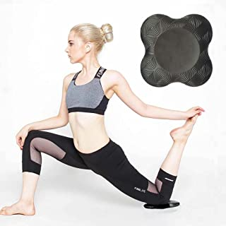 GaoJor-Support 瑜伽护膝 瑜伽普拉提 健身锻炼锻炼 1.98 厘米厚专业环保瑜伽护膝垫 适用于膝关节和头部(一包)