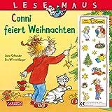 LESEMAUS 58: Conni feiert Weihnachten (2019): Mit weihnachtlichem Glitzer-Aufkleber (58) - Liane Schneider
