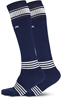 Vector X Unisex Adult FIZER-2PAIR Socks - Navy, One Size