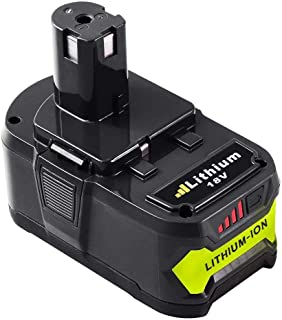 P108 4.0Ah Replace for Ryobi 18V Lithium ion Battery 18 Volt One Plus P102 P103