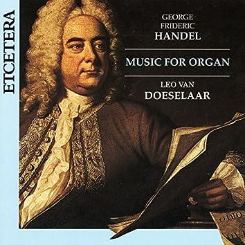George Frideric Handel, Music for Organ