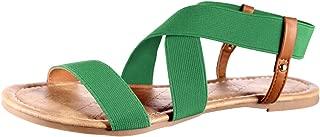 Women's Elastic Flat Sandals