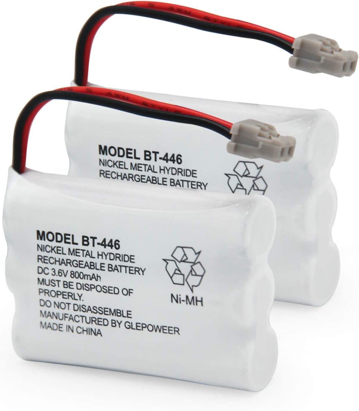 BT-446 Battery Compatible for Uniden BP446 BT-1005 TRU888 Cash special Ranking TOP20 price BT1005