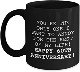 6OTH ANNIVERSARY GIFT - COFFEE MUG