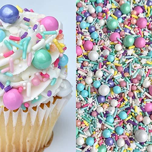 Manvscakes | Pastel sprinkles | Cake sprinkles | Cookie Sprinkle | Easter sprinkles | Unicorn sprinkles | Baking | Cake decorations