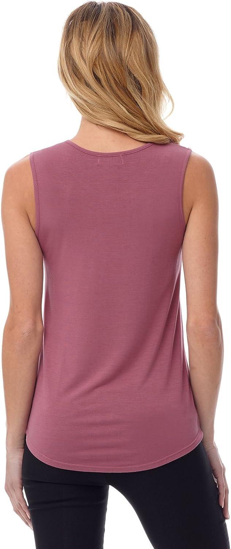 Rekucci Women's Soft Jersey Knit Sleeveless Tank Top (S-XXL) at  Women's Clothing store