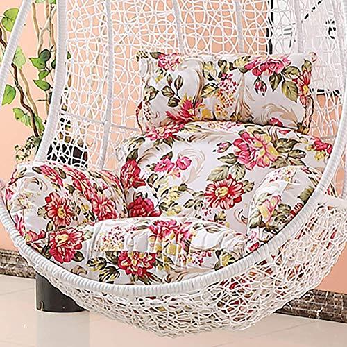 TINA schommelstoel kussen, zonder standaard uitneembare wasbare opknoping ei hangstoel pad binnen binnenplaats buiten
