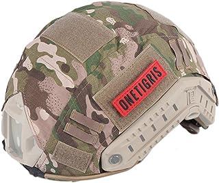 OneTigris ヘルメットカバー Fastヘルメット PJ/MHタイプ 軍用カバー サバゲー装備 SWAT M/L サイズ (マルチカム迷彩)