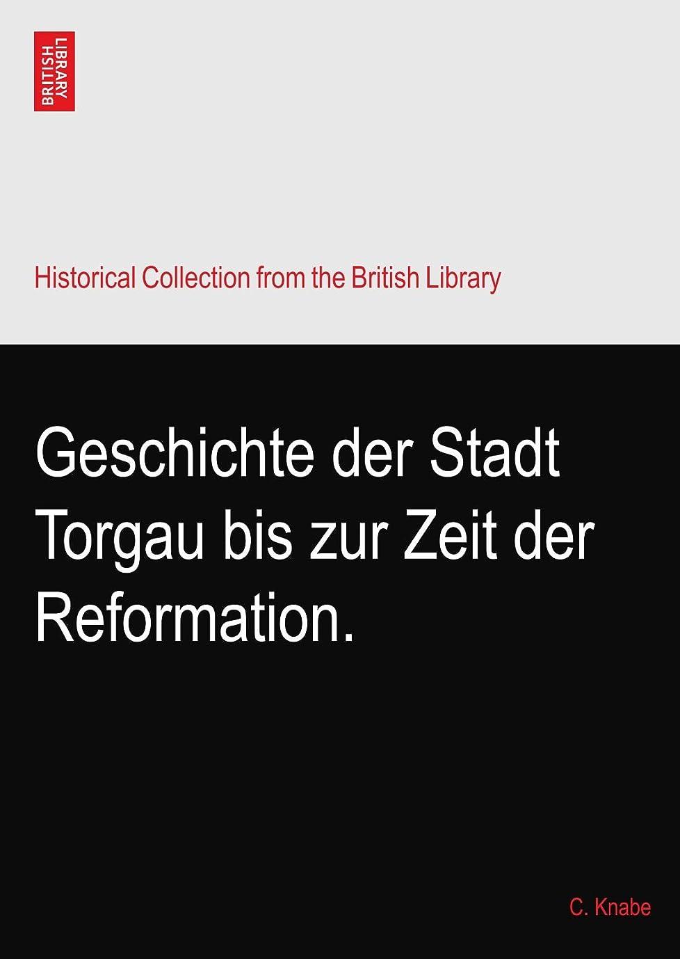 ピカソステレオタイプ請願者Geschichte der Stadt Torgau bis zur Zeit der Reformation.